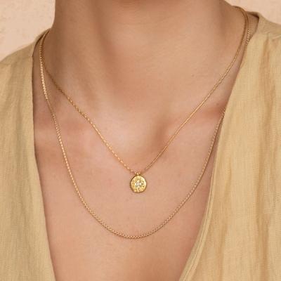 Collier Ishtar dorées à l'or fin