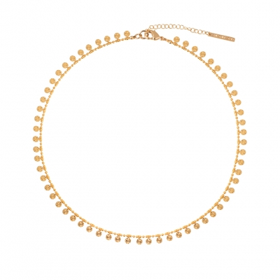 Collier Gold Coast doré à l'or fin
