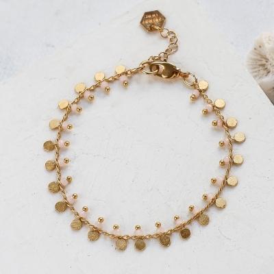 Bracelet Lexi rose doré