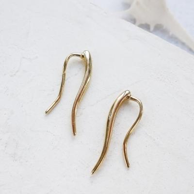 Climbers Wind dorées à l'or fin