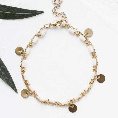 Bracelet Bahati blanc