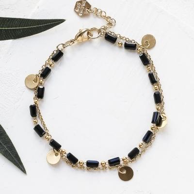 Bracelet Bahati noir