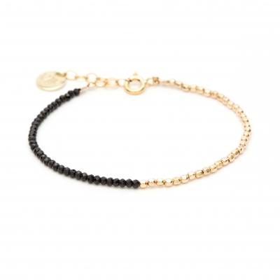 Bracelet Queen Bi-colore Or jaune