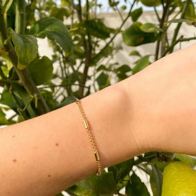 Bracelet Paros doré à l'or fin