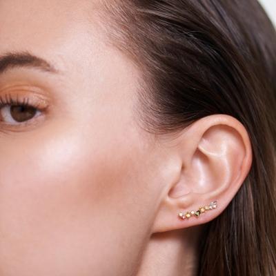 Boucles d'oreilles Euphoria dorées