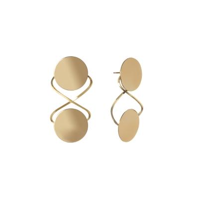 Boucles d'oreilles Envole disque