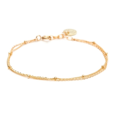Bracelet Stella Double gold filled