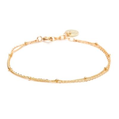 Bracelet Stella Double gold filled