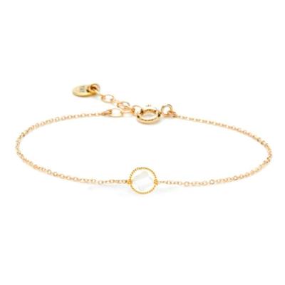 Bracelet White Swan Etoile Nacre doré