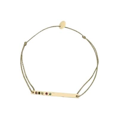 Bracelet Douceur saphir multicolore