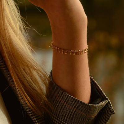 Bracelet Naples doré à l'or fin