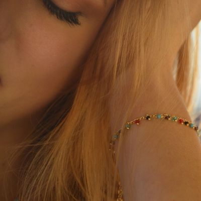 Bracelet Orlando doré à l'or fin
