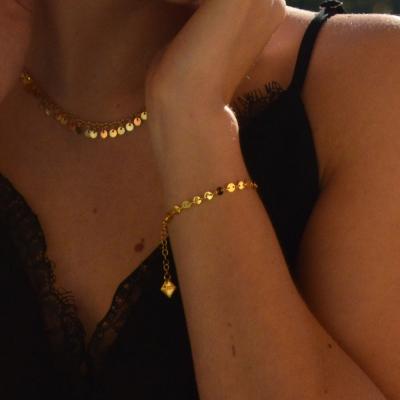 Bracelet Sanibel doré à l'or fin