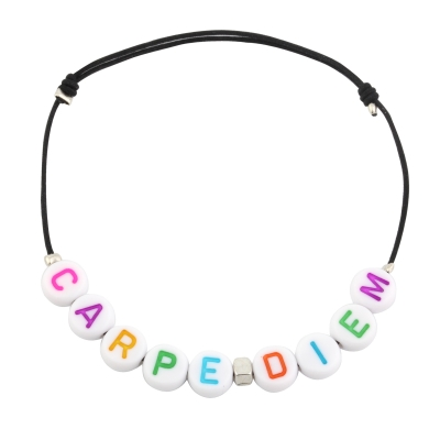 Bracelet personnalisable rainbow cube