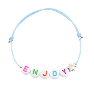 Bracelet personnalisable rainbow étoile
