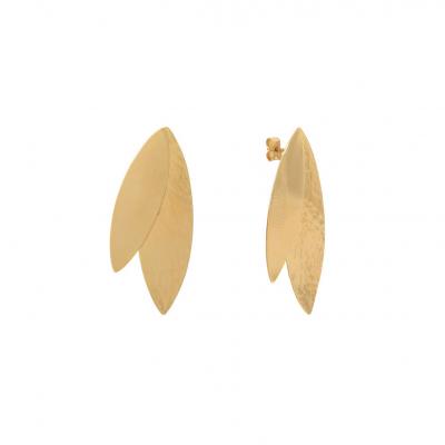 Boucles d'oreilles 2 plumes