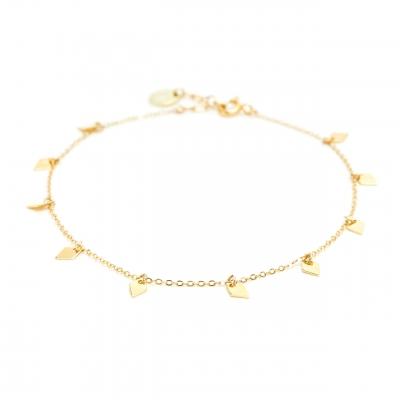 Chaine de cheville Jimie gold filled