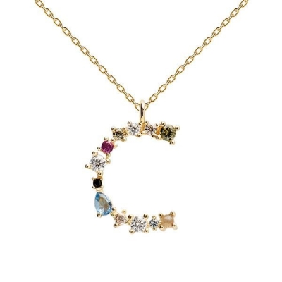 Collier Lettre C Or