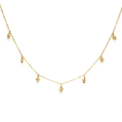 Collier Cosmic Galaxie gold filled