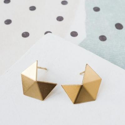 Boucles d'oreilles Cubism post