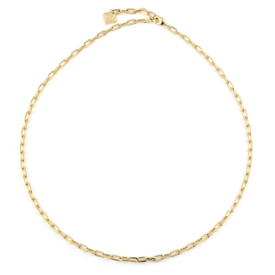 Collier grand Dolus doré à l'or fin