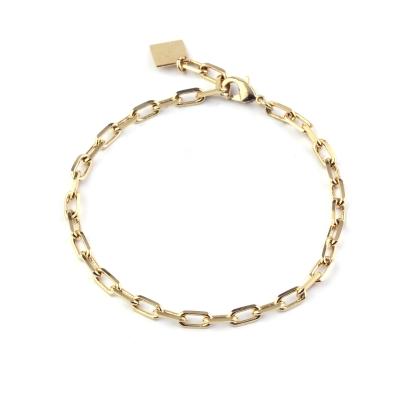 Bracelet Grand Dolus doré à l'or fin