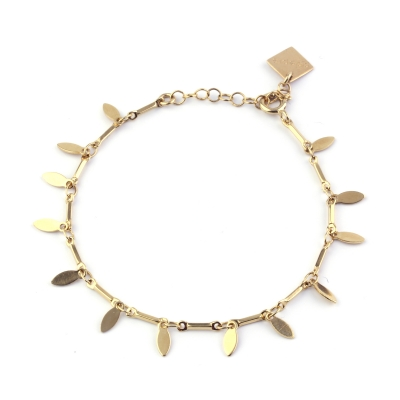 Bracelet Captiva doré à l'or fin