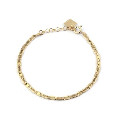 Bracelet Salines doré à l'or fin