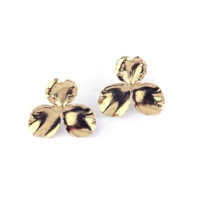 Boucles d'oreilles Joséphine doré à l'or fin