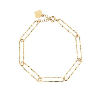 Bracelet Héloise doré à l'or fin