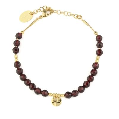 Bracelet Lux Grenat