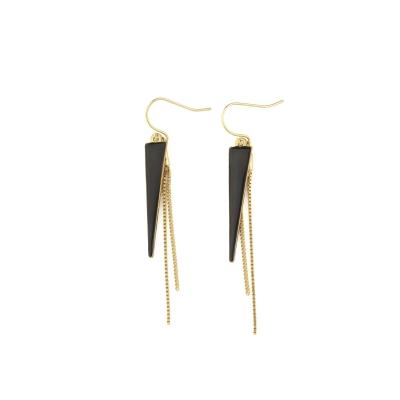 Boucles d'oreilles Arizona noir