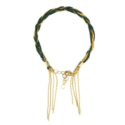 Bracelet Apache vert fonçé