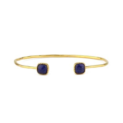 Bracelet jonc Josepha Lapis-lazuli