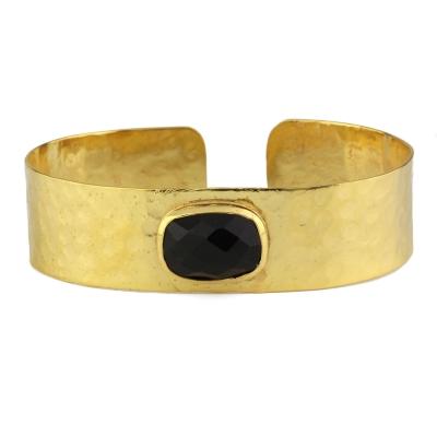 Bracelet manchette Porto Vecchio onyx