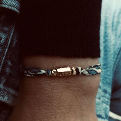 Bracelet GRECO print Blue