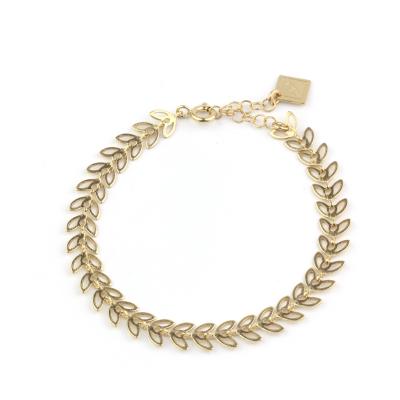 Bracelet Butterfly doré à l'or fin