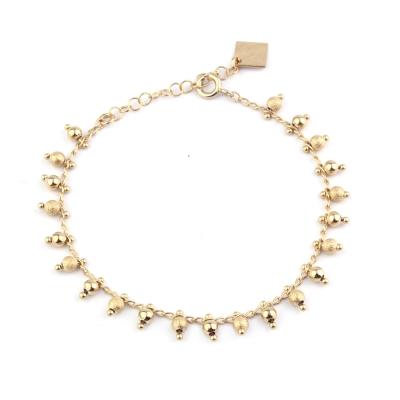 Bracelet Time  doré à l'or fin
