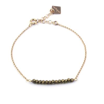 Bracelet Mina 13 pyrite