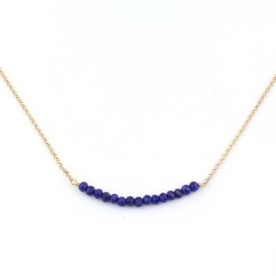 Collier Mina 13 lapis lazuli