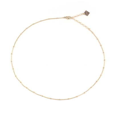 Collier Mina doré à l'or fin