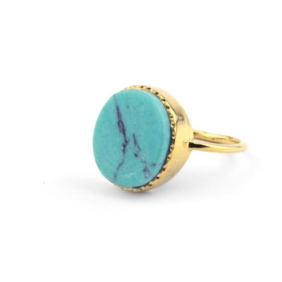Bague Andréa turquoise
