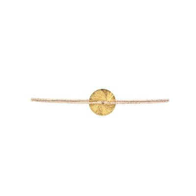Bracelet rondelle doré