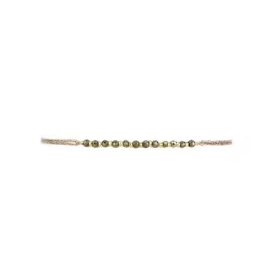 Bracelet canyon hématite