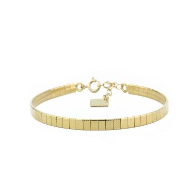 Bracelet Disco doré à l'or fin