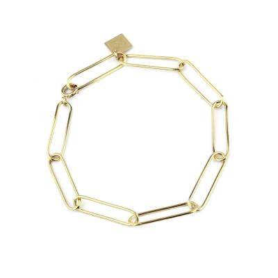 Bracelet Lou doré à l'or fin