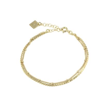 Bracelet Judith doré à l'or fin