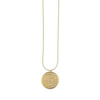 Collier Vénus doré à l'or fin