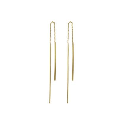 Boucles d'oreilles Fall dorées à l'or fin