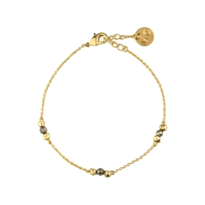Bracelet NINO pyrite